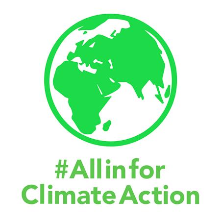 #AllinforClimateAction